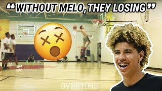 LaMelo Throws Down EPIC WINDMILL! Says Chino CAN'T WIN WITHOUT HIM!