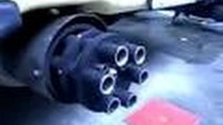 Прикол! Звук выхлопа Subaru на автомобиле ВАЗ 2115,2114,2113,2199,2109,2108