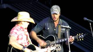 Luke Bryan & Jason Aldean~We Rode In Trucks
