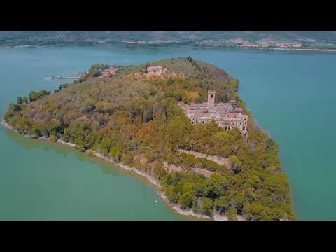 Guglielmi Castle, Lake Trasimeno, Italy