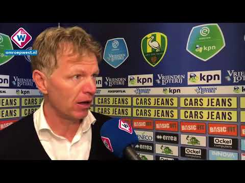 Reactie Fons Groenendijk na ADO Den Haag - Heracles Almelo