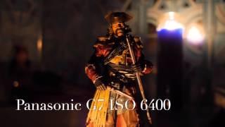 panasonic g7 extended video iso low light test ii