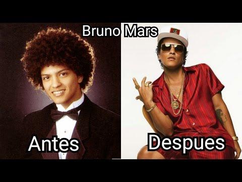 Bruno Mars 1985-2016 Antes Y Después (Before And After)