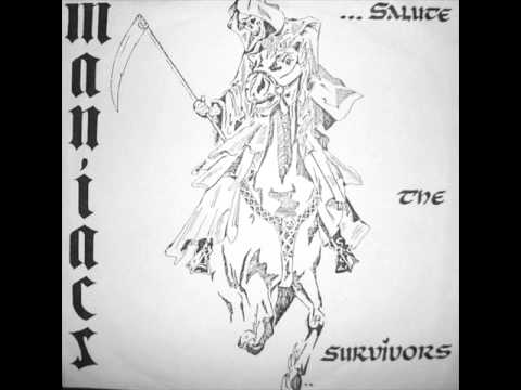 Maniacs - Salute The Survivors (EP 1984)