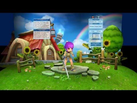 Luna Online: Reborn - Character Creation, First Quest, Environment