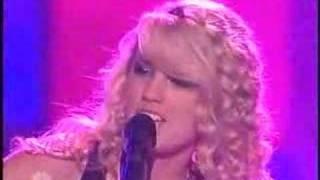 Taylor sings Teardrops on My Guitar on America's Got Talent