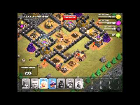 Clash of Clans: P.E.K.K.A's Playhouse - Single Player 100% Damage