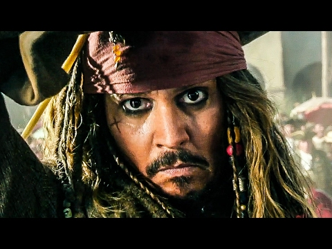 PIRATES OF THE CARIBBEAN 5 Trailer 1 - 3 (2017)