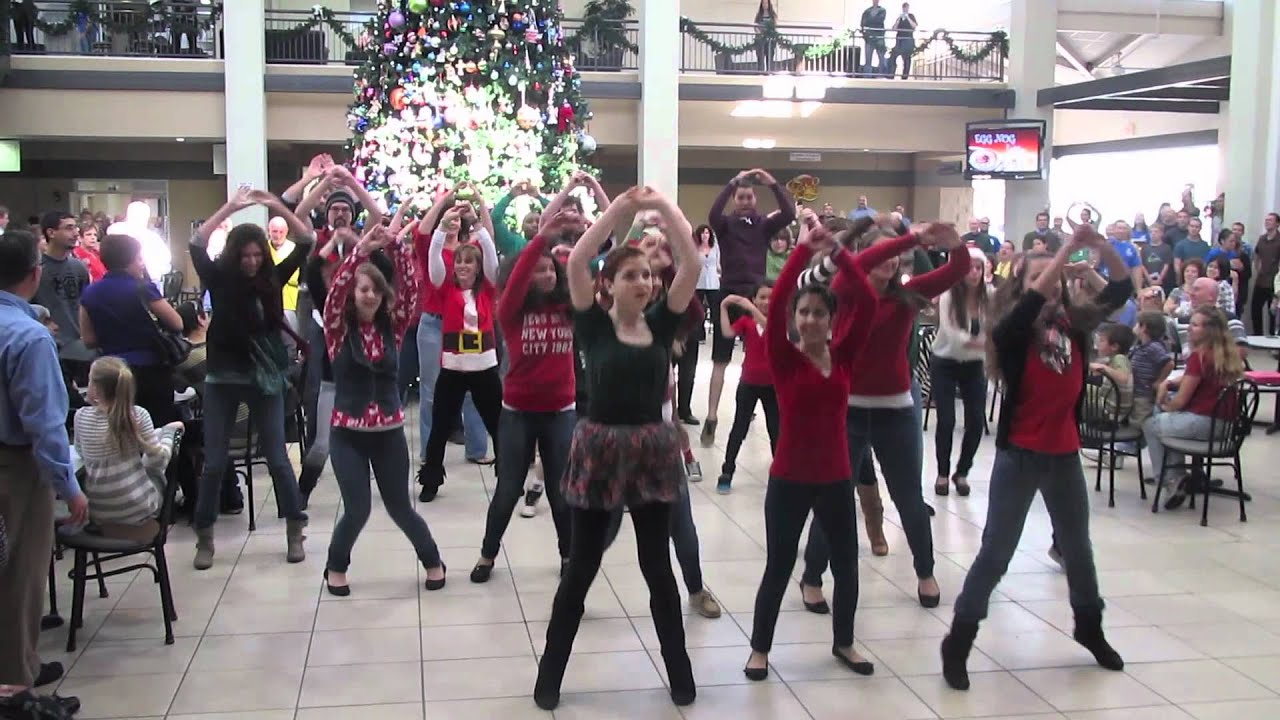 2011 Christmas Flash Mob - YouTube