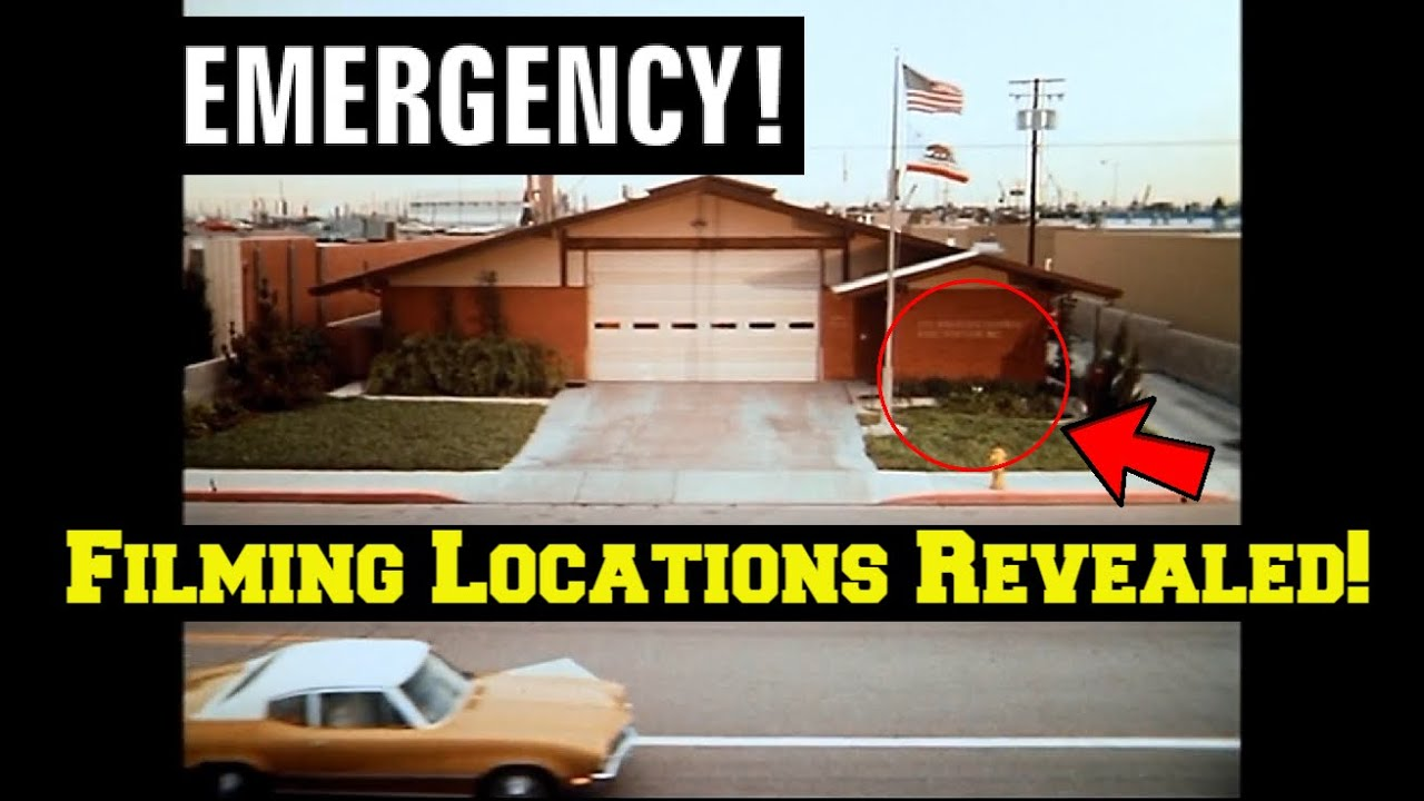 Download Emergency! (TV Show)---FILMING LOCATION Revealed! Before and After/Then and Now!--The Fire Station!