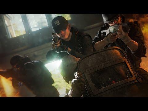 12 Minutes of  Rainbow 6 Siege Gameplay - Gamescom 2015