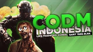 CODM Indonesia - Lupa Password, Zombie Mode, Garit yang Bijak