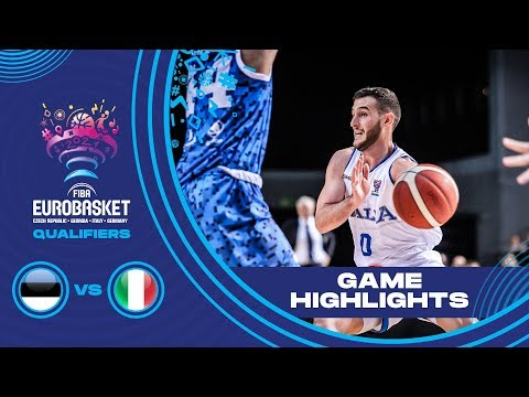Estonia v Italy - Highlights - FIBA EuroBasket 2021 - Qualifiers