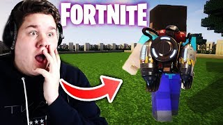 *FORTNITE JETPACK HACK* in MINECRAFT 😱 (krass)