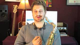 How to Keep Lips From Hurting While Playing the Saxophone
