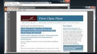 new discount airfare category upends coach business first class air travel part 1 of 4