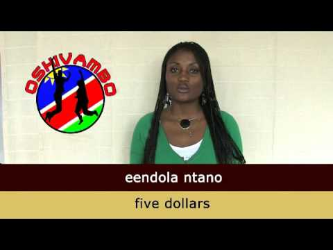 Oshivambo - Numbers from 1 to 10
