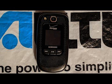 Verizon Wireless Samsung Convoy 2 (SCH-U660)