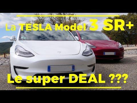 La Tesla Model 3 SR+ en détail
