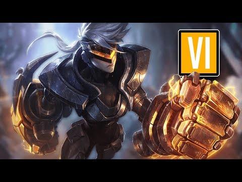 League of Legends #567: Vi Jungle (CZ/Full HD/60FPS) thumbnail