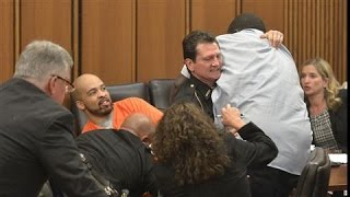 Download Video Father Attacks His Daughter's Killer in Court MP3 3GP MP4