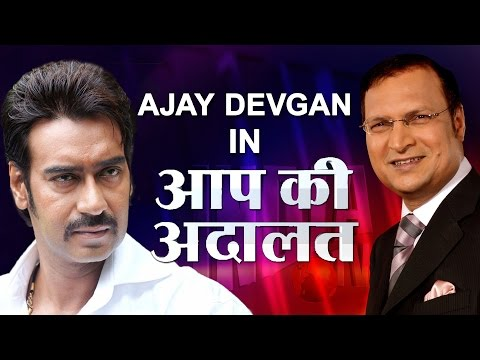 Ajay Devgan In Aap Ki Adalat (Full Episode)