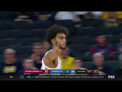 Marquette vs Bethune-Cookman Highlights: #BIGEASThoops