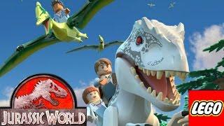 Мир Юрского Периода Лего 1-5 серия. Мультики лего для детей. Детское видео смотреть онлайн