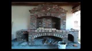 Repeat youtube video Building barbique , rotisseries - Izgradnja pecenjare