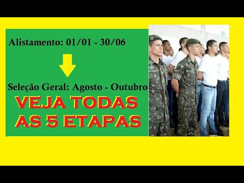 ALISTAMENTO MILITAR from YouTube · Duration:  1 minutes 31 seconds