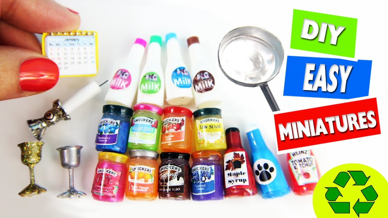 10 Easy Diy Miniatures Each In Less Than 1 Minute 2