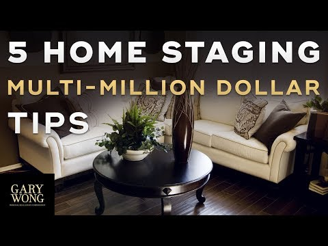 5 Home Staging Tips – Vancouver Real Estate