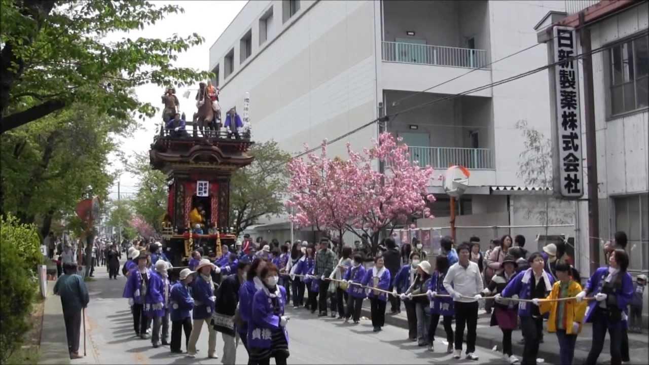 水口曳山祭り - YouTube