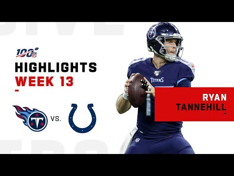 Ryan Tannehill Extends Titans Winning Streak to 3 | NFL 2019 Highlights