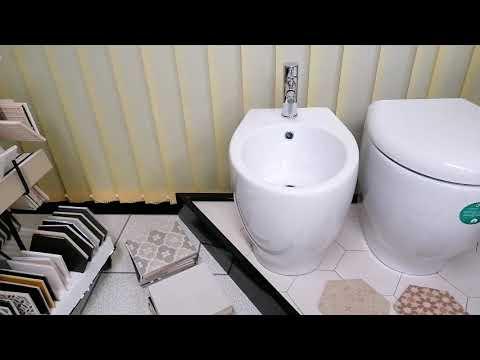 Sanitari Filo Muro - Wc + Bidet + Copri-wc - Prima scelta CERTIFICATA © - N. prodotto: 52411