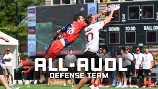 2016 All-AUDL Defense Team