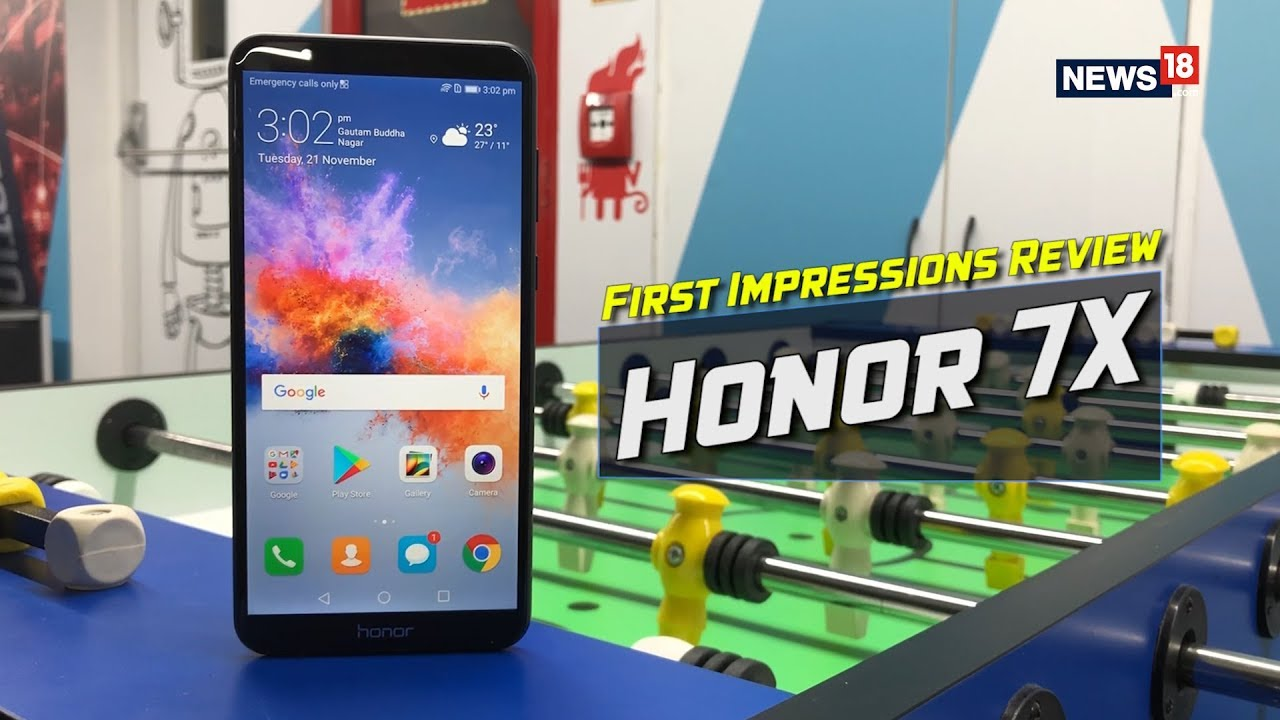 Honor 7X First Impressions Review: Honor Has an Ace up Its