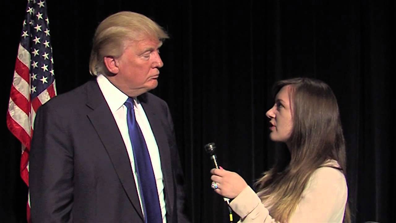 Donald Trump at Wartburg College - YouTube