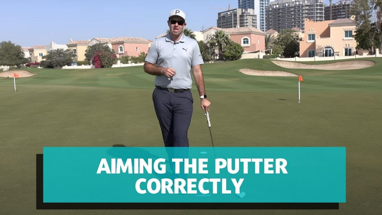 Aiming the Putter