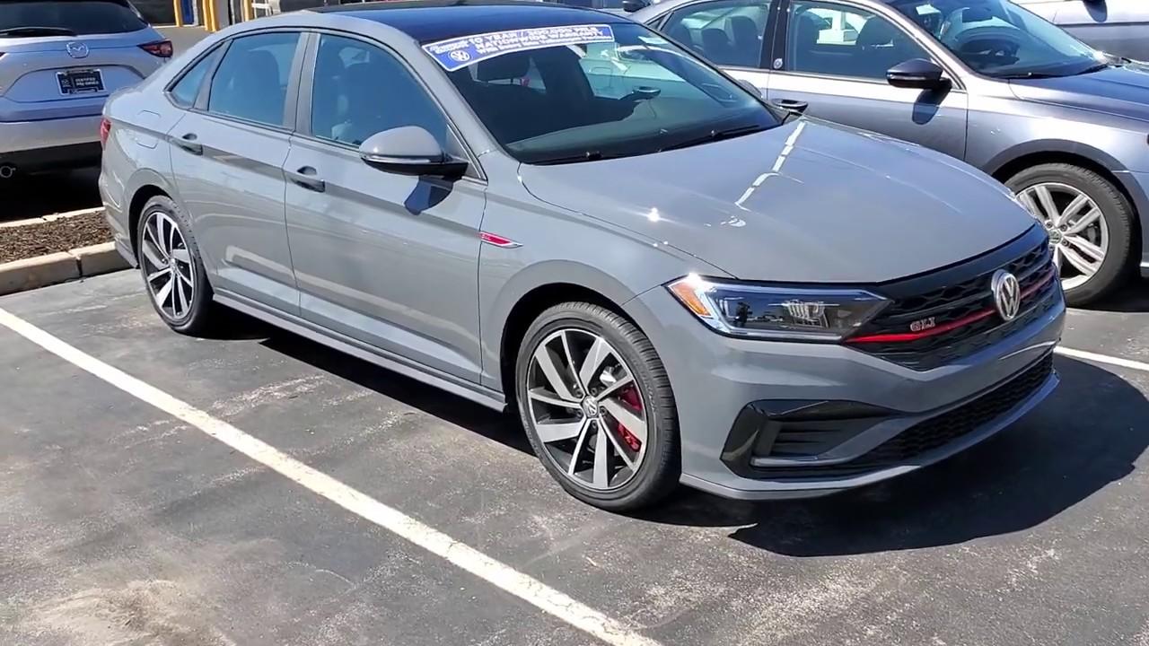 2019 Volkswagen Jetta GLI Autobahn Edition Pure Gray First