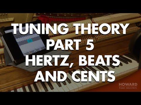 Piano Tuning - Tuning Theory Part 5 - Hertz, Beats and Cents