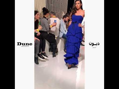 Dune London at Arab Fashion Week 2019
