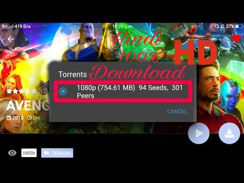 torrent avengers infinity war 1080p download