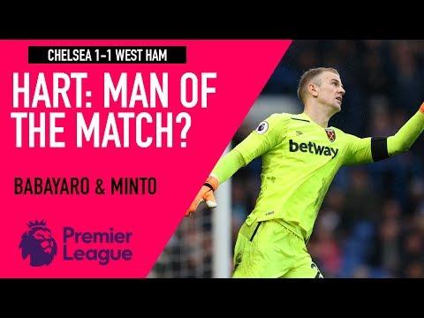 Joe Hart: Man On The Match? | Chelsea 1-1 West Ham | Astro SuperSport