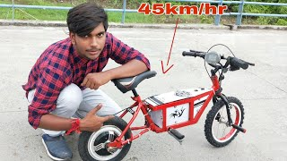 how to make electric bike for kids at home || DIY Project