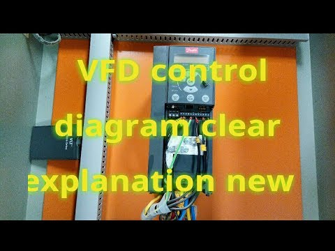 Vfd Drive Control Wiring Diagram: vfd drive training simple explanation control panel wiring rh:youtube.com,Design