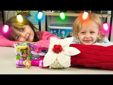 HUGE Christmas Stocking Surprise Toys Shimmer and Shine My Little Pony Girls Toys Kinder Playtime