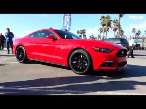 2015 Mustang at Venice Beach.