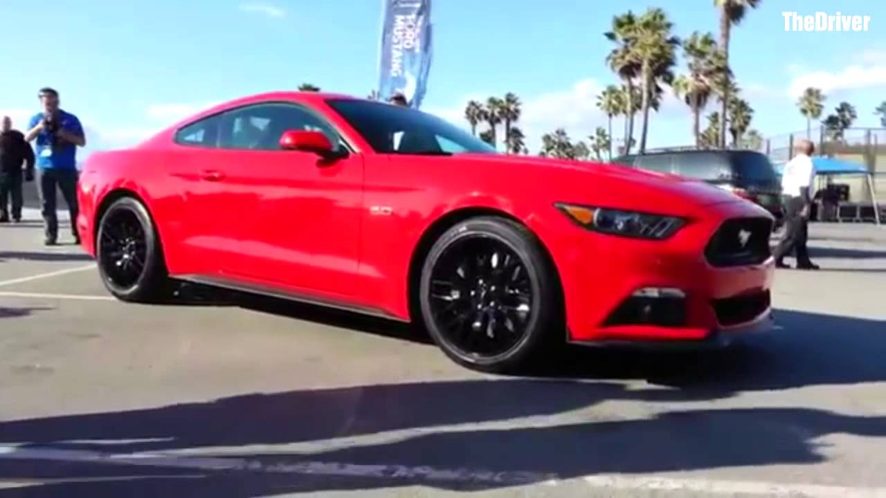 2015 Mustang At Venice Beach Youtube