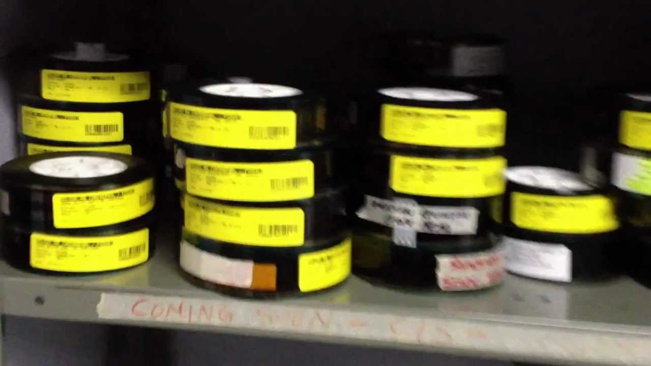 Tour Of A Movie Theatre Projection Room Jan 6 2012 Youtube